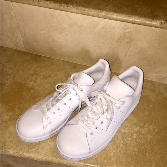 le adidas bianco stan smith mens 8 donne 9 poshmark